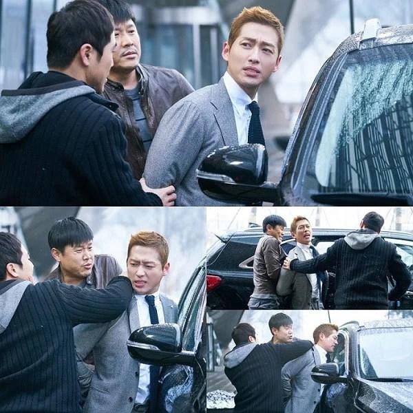 《金科長》發布南宮珉劇照:被兩名刑警戴上手銬後押送上車