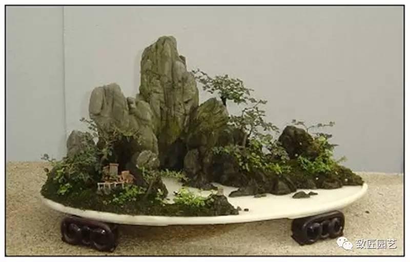 山水盆景的詩情畫意