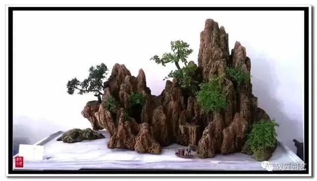 山水盆景蘊含的詩情畫意