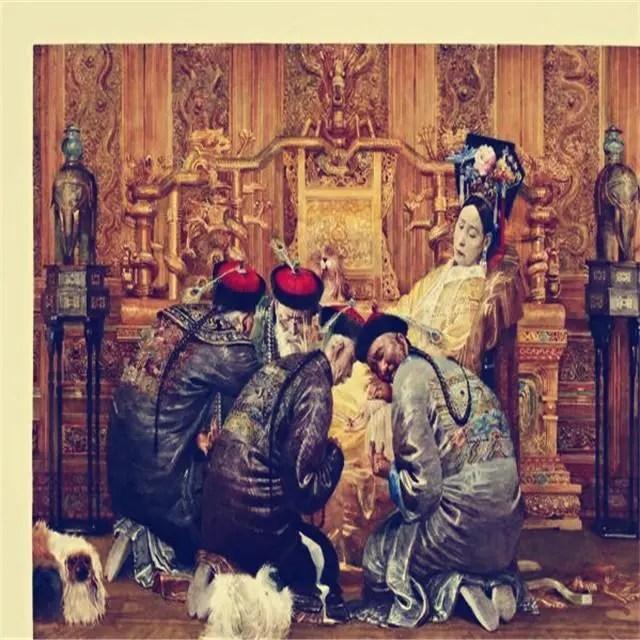 數十人日夜守候,欽天監親定刨喜坑,不是每個妃子都有這樣待遇!