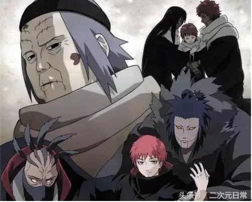 火影忍者中,四個實力超強的傀儡師,赤砂之蠍並不是最強!