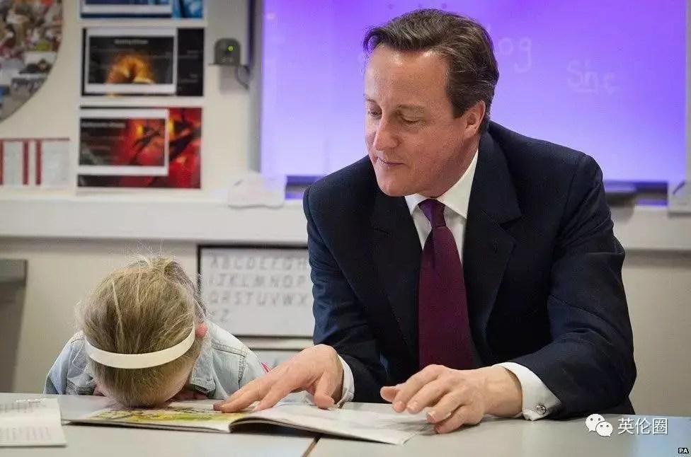 梅姨尷尬癌發作!熊孩子才是真正的首相剋星
