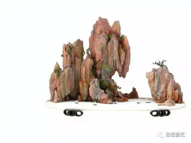 山水盆景的擺設與欣賞!