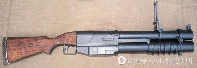 中國湖泵動式榴彈發射器,名字帶有中國二字,卻是美國的武器