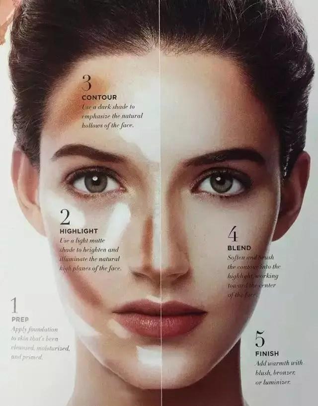 化妝這樣化,美顏和小臉一起擁有!