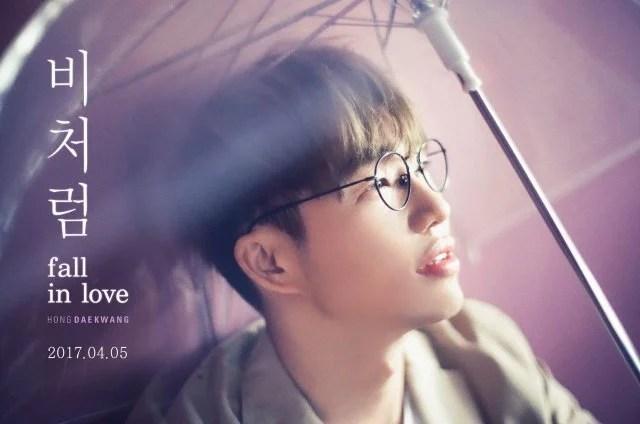 洪大光將在4月5日發行第四張迷你專輯