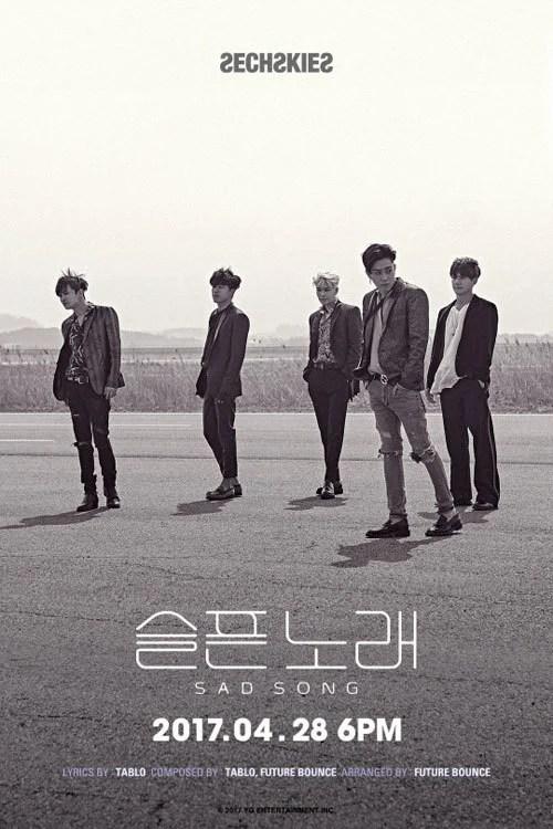 水晶男孩新專輯主打歌《SAD SONG》預告照公開
