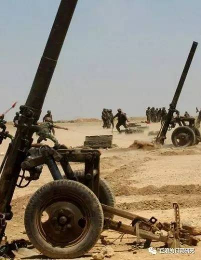 重炮發威:胡塞武裝使用160mm重型迫擊炮轟擊阿拉伯聯軍