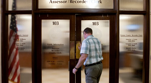 What you can find out about a person at the Assessor/Recorder's office