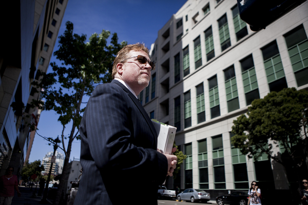 Cory Briggs has represented San Diegans for Open Government in every lawsuit it has ever filed except one — the nonprofit's lawsuit against inewsource. Photo by Sam Hodgson
