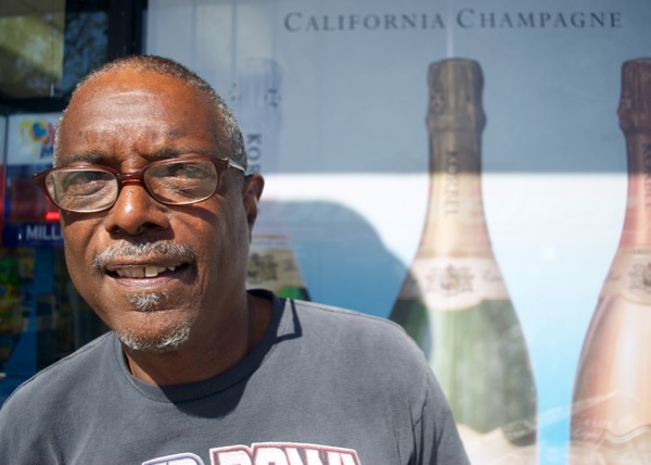 Don McCrady, a 67-year-old resident of Paradise Hills, is a regular customer of King's Liquor. Credit: Leo Castaneda/inewsource