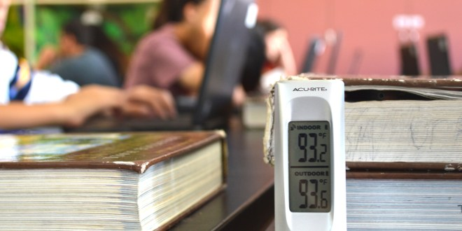 Kids, teachers sweat it out in classrooms without air conditioning