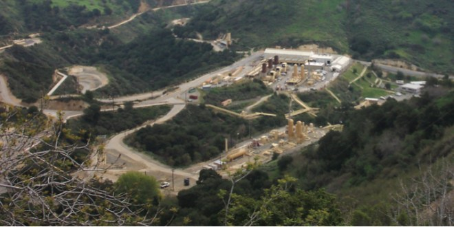 Methane spews unchecked from underground storage facility in Los Angeles County