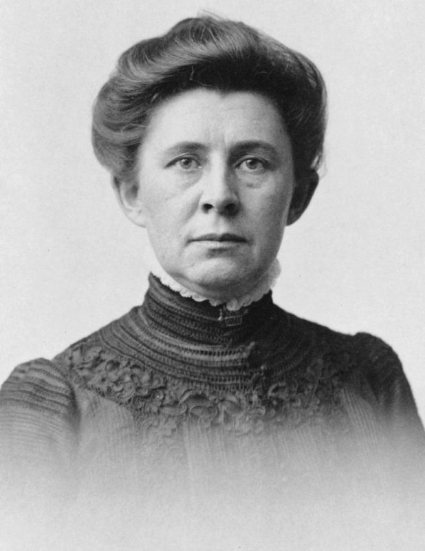 Ida M. Tarbell, Photo by James Edward Purdy, courtesy of the United States Library of Congress's Prints and Photographs division