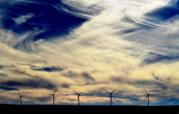 Energía Sierra Juárez, a subsidiary of Sempra Energy, a cross-border wind generation project at La Rumorosa, Tecate, Baja California. Credit: Martin Lemus, Fotografia Lemus