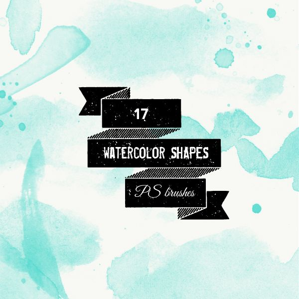 566-ps-brushes-watercolor-shapes-and-splatters