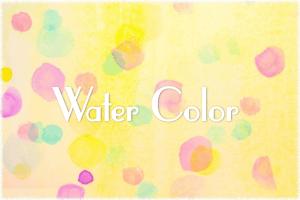 柔らかい印象を作り出すフリーで使える水彩画のテクスチャやPhotoShopブラシ