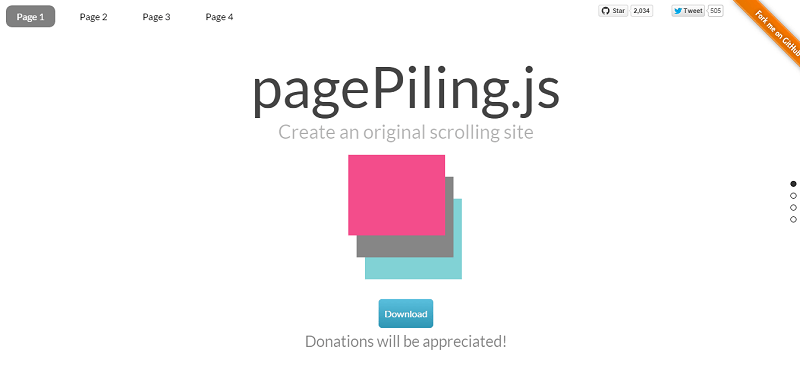 pagepiling