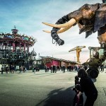 Les Machines de l'ile, parc des Chantiers, Nantes © Franck Tomps / LVAN
