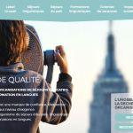 page accueil site web