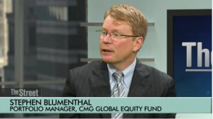 Steve Blumenthal, CEO, CMG Capital Management Group on theStreet talking about an alternative to the traditional 60/40 stock-bond portfolio