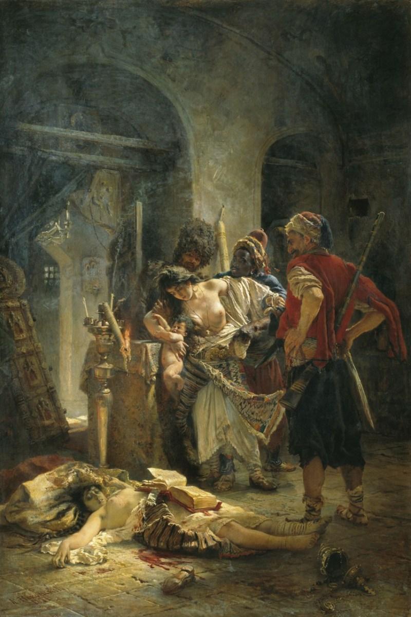 Албанские зверства на Балканах от лица Османской империи