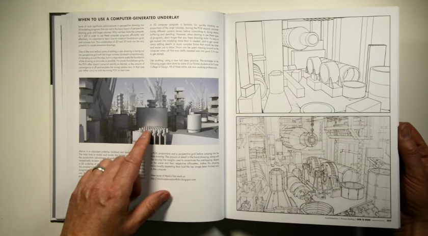how to draw drawing and sketching objects and environments