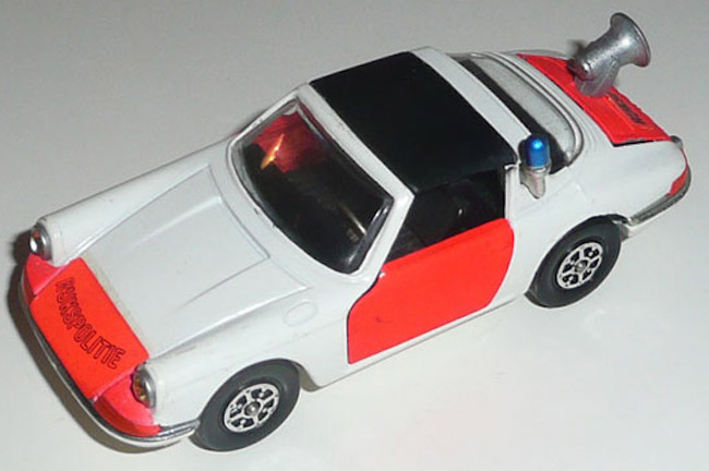 Corgi first offered this Porsche 911 casting in the late 1970s.