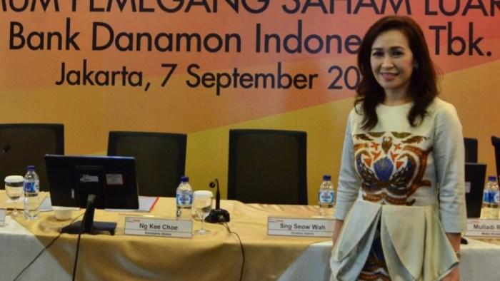RUPSLB Danamon Tunjuk Rita Mirasari Jadi Direktur