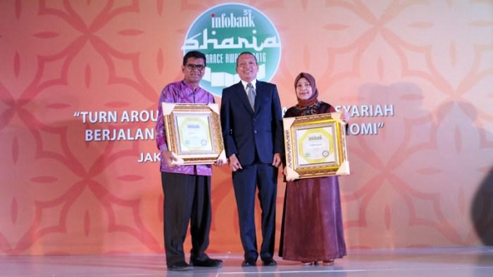 BNI Syariah Raih Infobank Sharia Awards