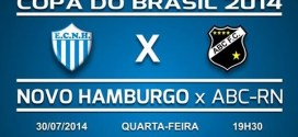 Ao vivo – Novo Hamburgo e ABC – Copa do Brasil 2014