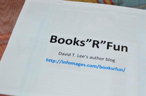 "Books""R""Fun blog (by David T. Lee)"