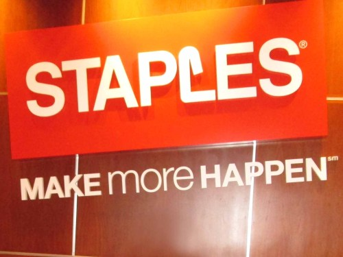 David's Staples Book Selling Event 2014