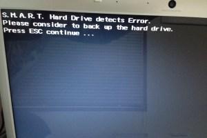 ハードディスク(内蔵、外付)のデータ復旧