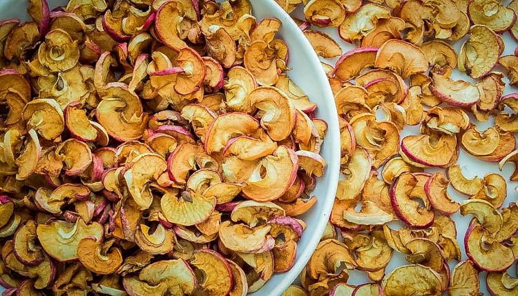 Одно сушеное яблоко в день укрепляет здоровье