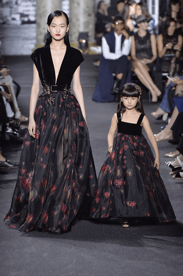 Alta-costura verão 2017 de Elie Saab (Foto: Getty Images)