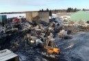 Violent incendie chez Charbon de bois Feuille d'érable