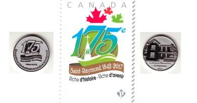 Saint-Raymond : une pièce de monnaie et un timbre pour le 175e