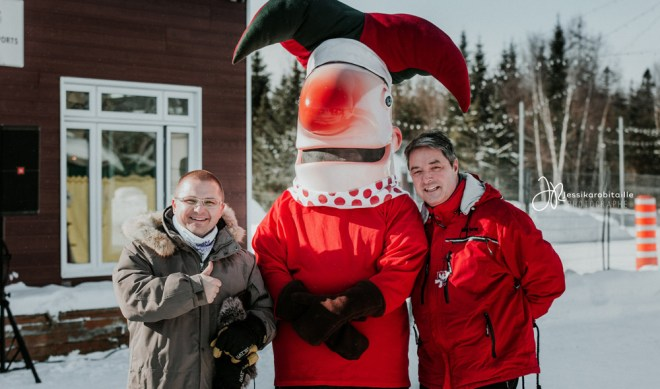Maire et Joel Godin Winterfest 2018
