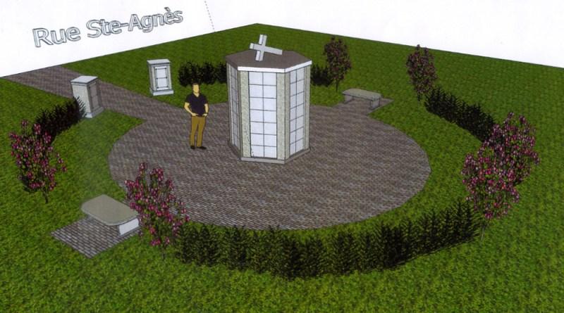 Compagnie de cimetières de Portneuf Est : deux nouveaux colombariums à Donnacona et Saint-Basile
