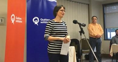 Odile Pelletier portera les couleurs de Québec solidaire dans Portneuf