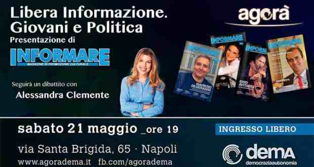 """Informare all'Agorà"" - Locadina dell'evento"