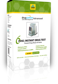 Rapid urine drug test kit