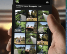 """Axial developed an app for """"Rails to Trails"""" helping to build a community of the fitness-minded with a sense of discovery."""