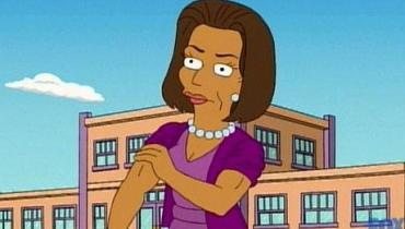 Michelle Obama - Simpsons