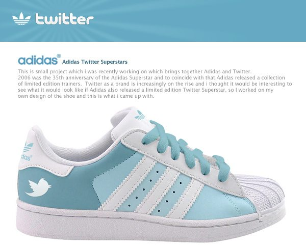 Adidas Facebook And Twitter Trainers: Commercially Viable?