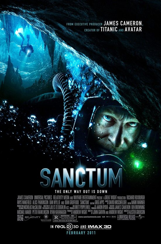 James Cameron&#8217;s Sanctum &#8211; Contest !!