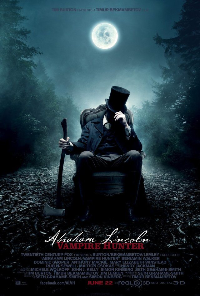 Summer Movie – Abraham Lincoln: Vampire Hunter
