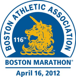 Boston Marathon 2012 logo
