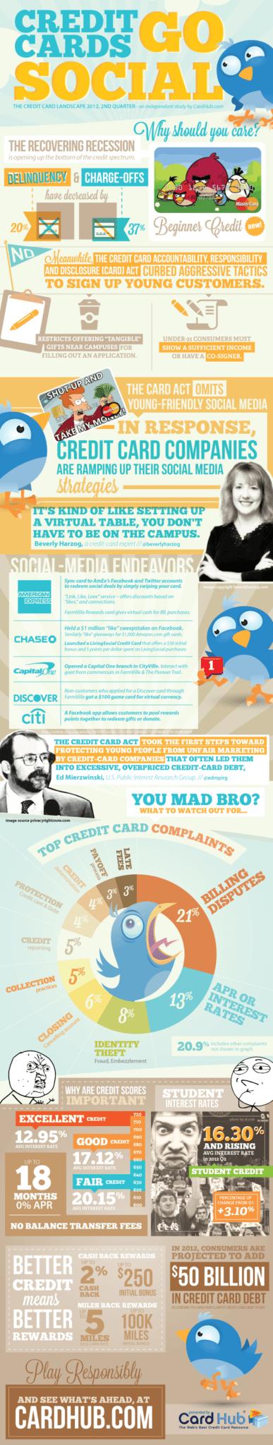 Credit Cards Social Infographic V152  Is the Swag Worth the Debt?